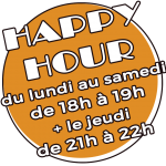 Logo happy hour PLB
